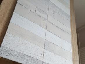 DIY Hintergrund in heller Holzoptik